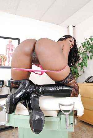 Sexy Black in Boots pictures