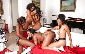 Black GroupSex pictures